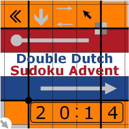Double Dutch Sudoku Advent