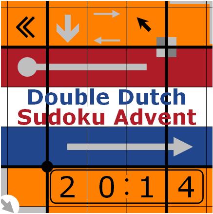 Double Dutch Sudoku Advent (16) - Even Sandwich vs  Hidden