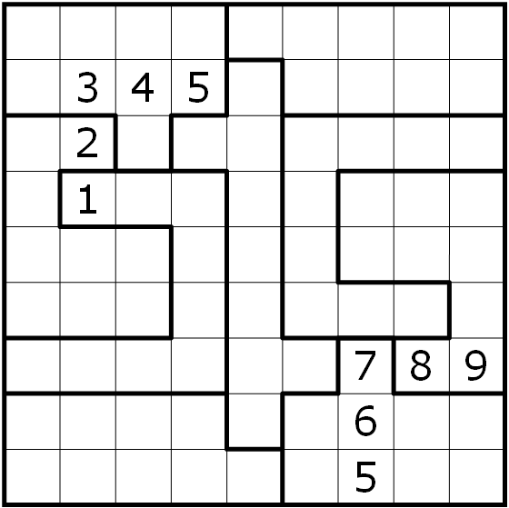 sudoku variants series 100 irregular twin r tselportal logic masters deutschland. Black Bedroom Furniture Sets. Home Design Ideas