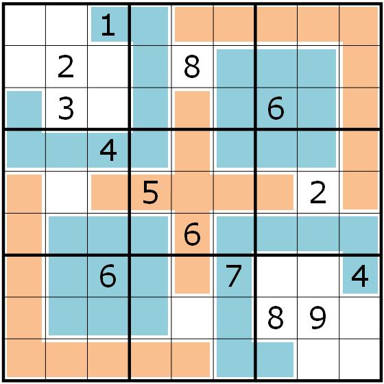 Sudoku Variants Series 016 Extra Regions Sudoku Rätselportal