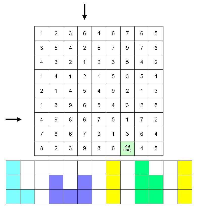Primzahl Kreuzworträtsel