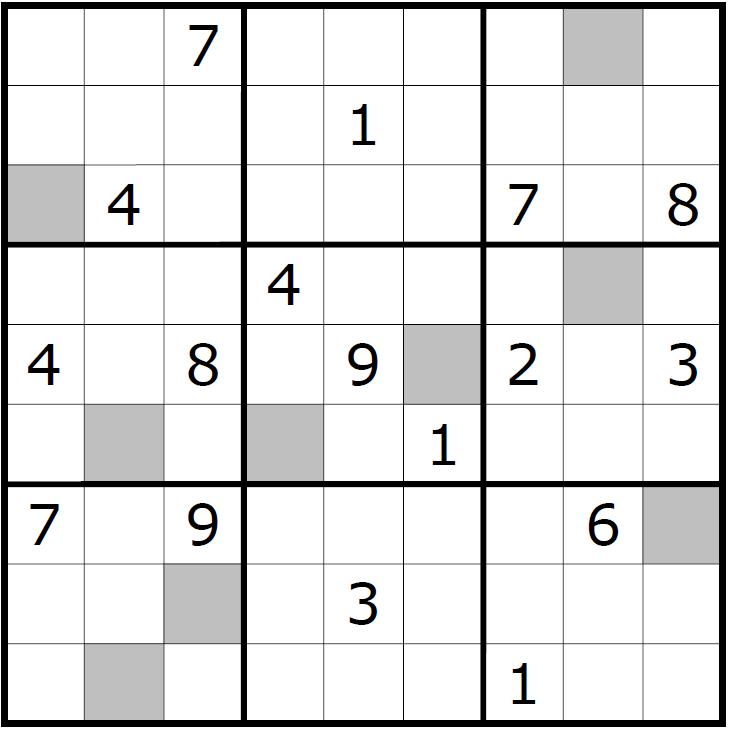 Sudoku Variants Series (230) - Odd/Even Count Sudoku