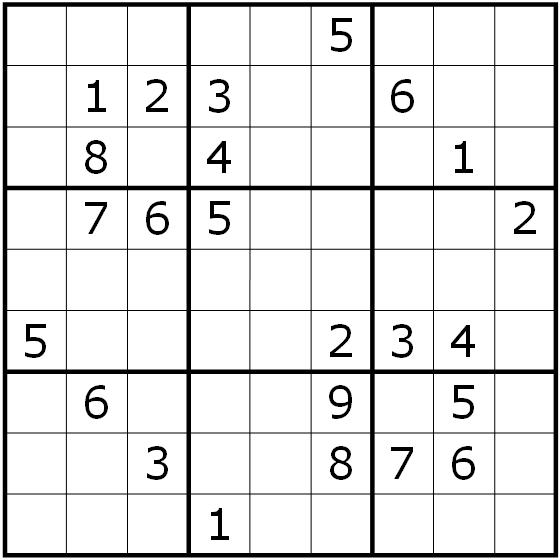 Sudoku Variants Series (000) - Classic Sudoku — Rätselportal