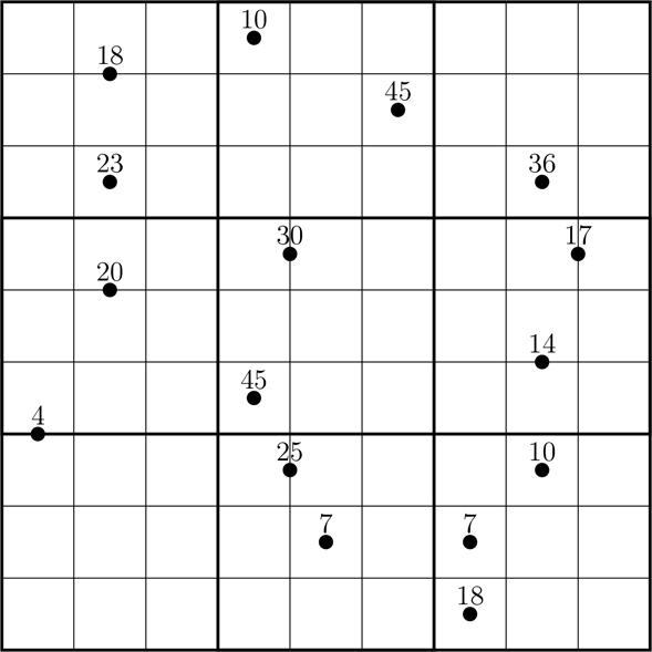 Killer Sudoku Online Lösen